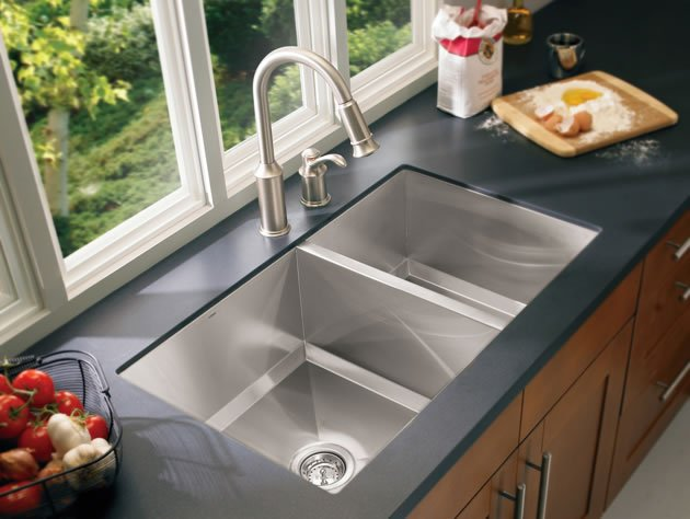 top mounted kitchen sinks best undermount kitchen sinks 2019 top 5 models on 6301