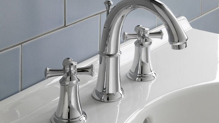 Tuscan Bronze Bathroom Faucets Bath The Home Depot homedepot.com Bath Tuscan Bronze