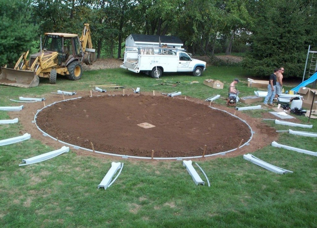 how to install above ground pool