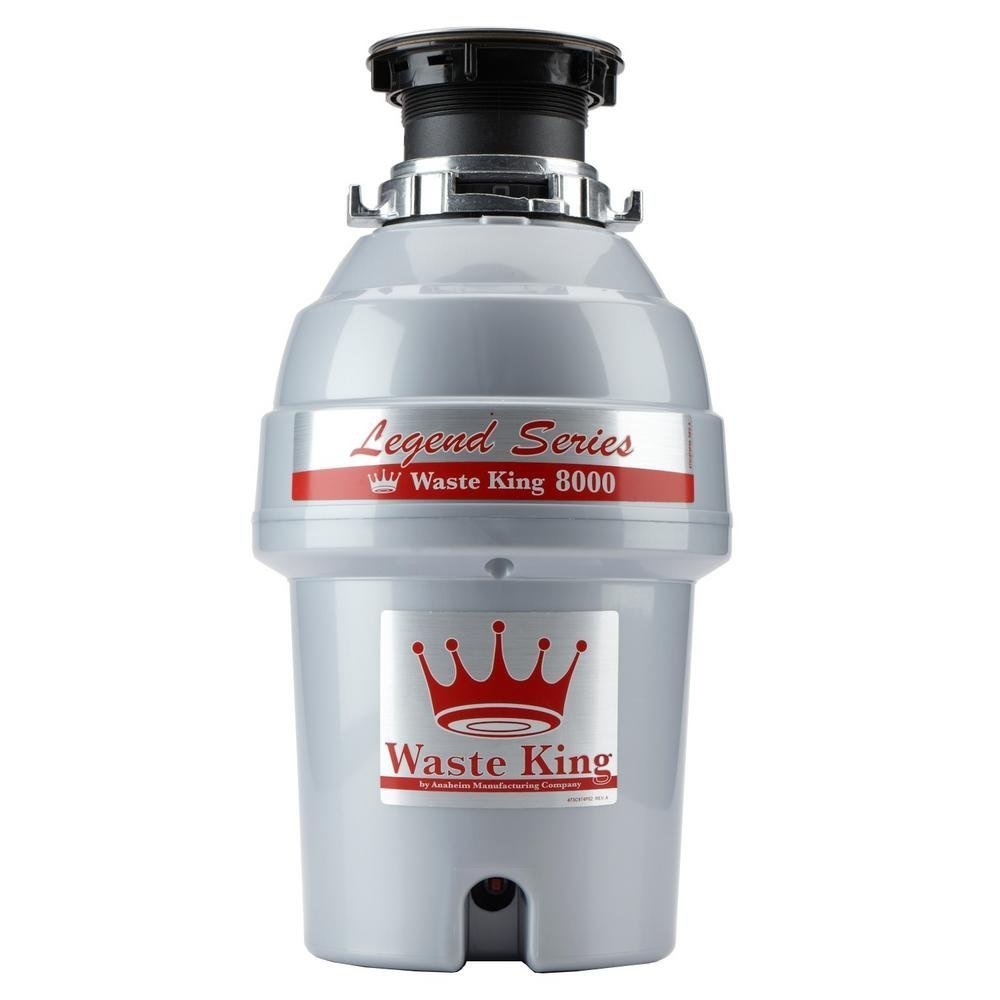 Waste King Legend Series 1 HP Continuous Feed Garbage Disposal