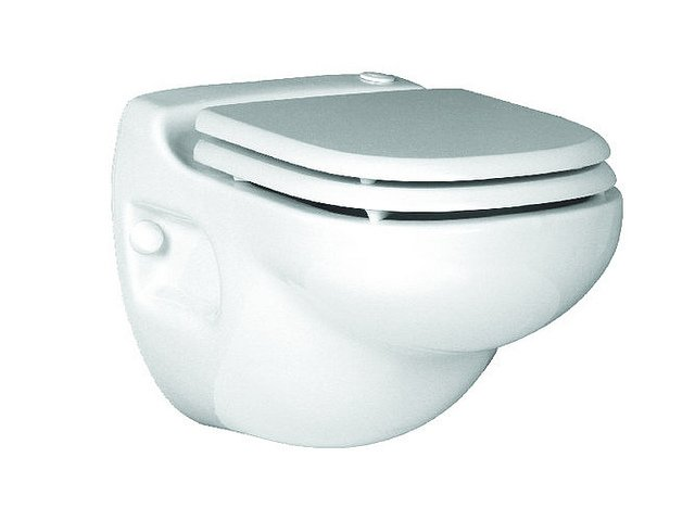 Macerating (Upflush) Toilet