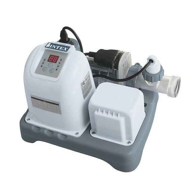 Intex Salt Water Pool Systems for Above Ground Pool Review