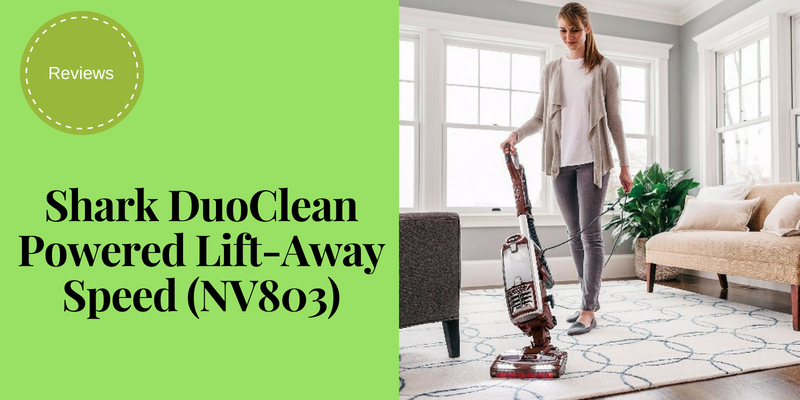 Shark DuoClean Powered Lift-Away Speed (NV803) Review