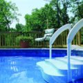 best above ground pool ladder