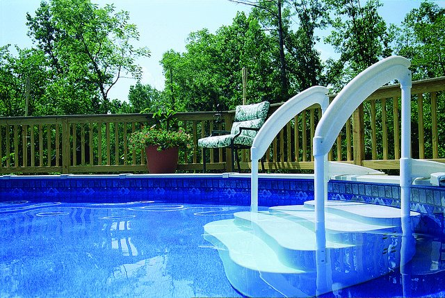 Top 6 Best Above Ground Pool Ladders of 2019 - Reviews ...