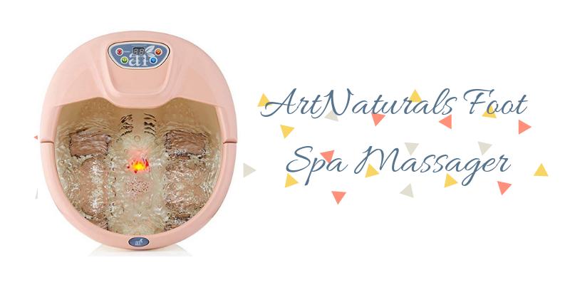 ArtNaturals Foot Spa Massager Review