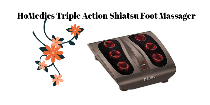 HoMedics Triple Action Shiatsu Foot Massager