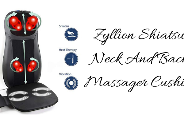 Zyllion Shiatsu Neck And Back Massager Cushion Review