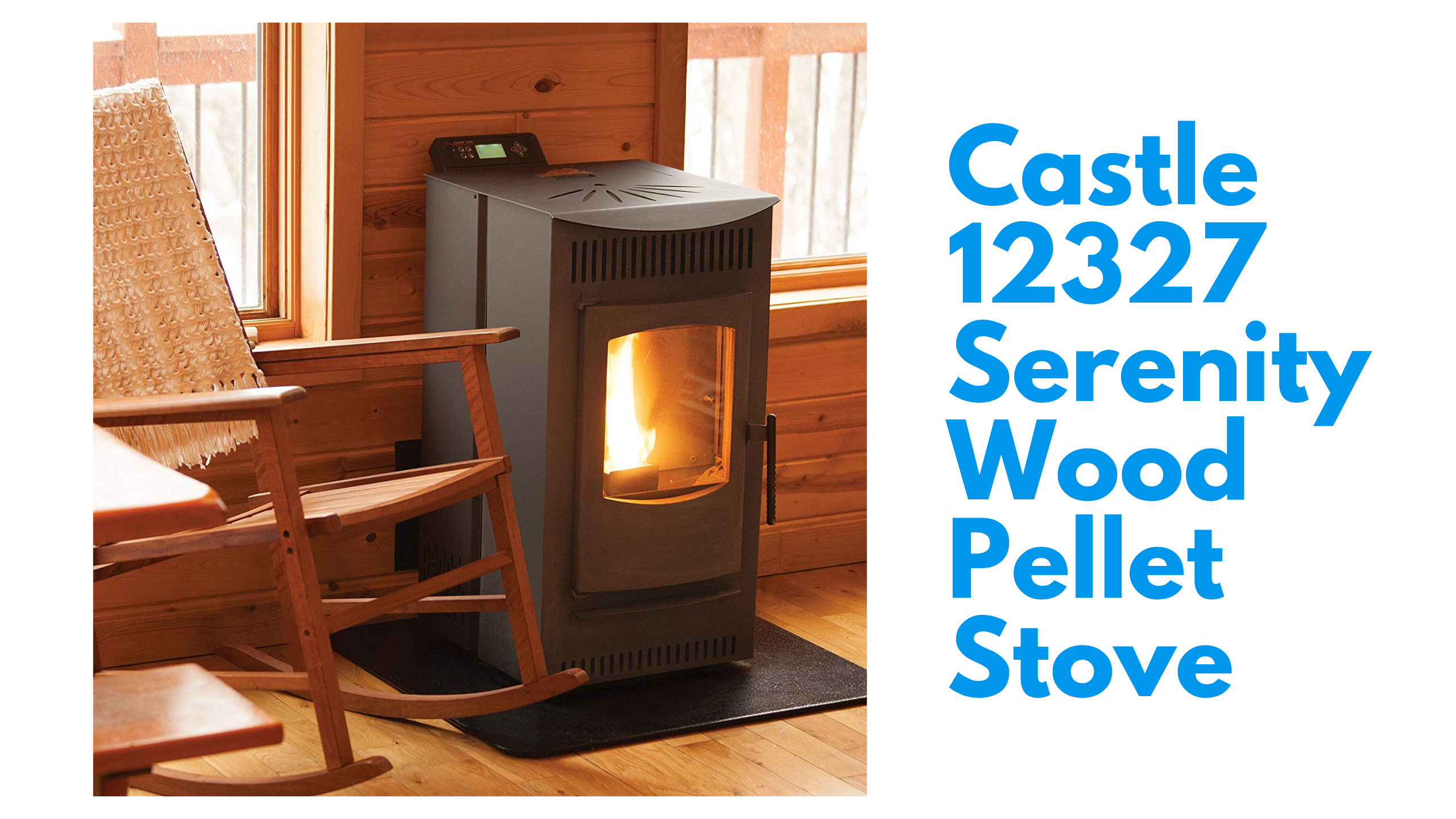 Castle 12327 Serenity Wood Pellet Stove