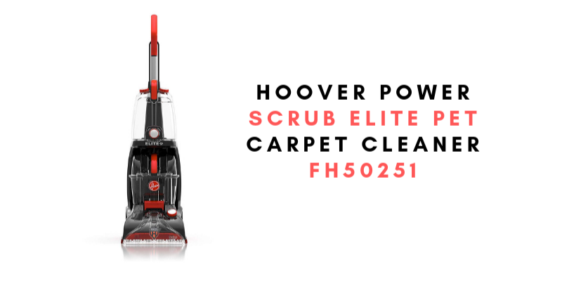 Hoover Power Scrub Elite Pet Carpet Cleaner, FH50251